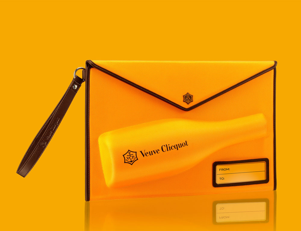 Дизайн упаковки Clicquot Mail Collection